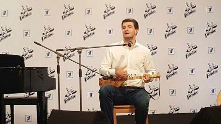 """…и на кастинге проекта """"Голос"""" на Первом канале. Фото instagram.com"""