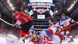 Россия не смогла победить Канаду