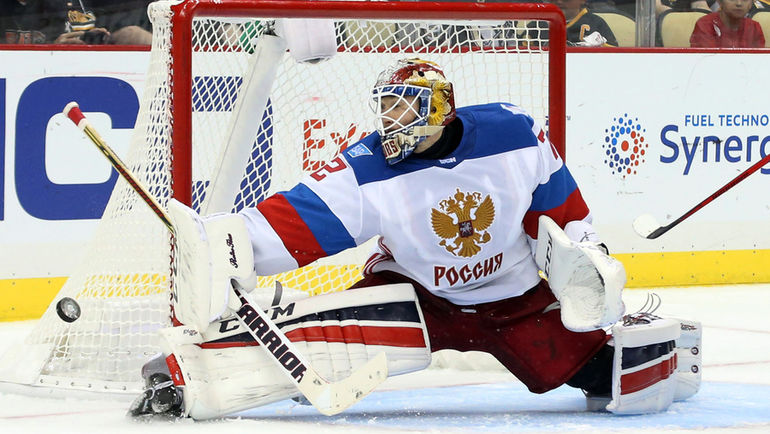 Сергей БОБРОВСКИЙ - однозначно лучший игрок сборной России на Кубке мира. Фото USA Today