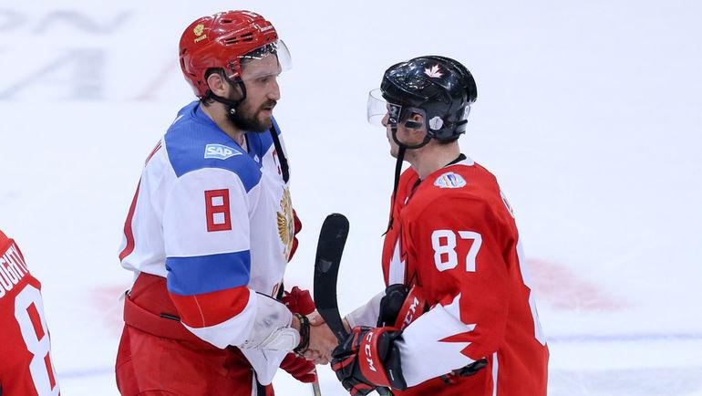 Александр ОВЕЧКИН и Сидни КРОСБИ. Фото Kevin Sousa-USA TODAY Sports