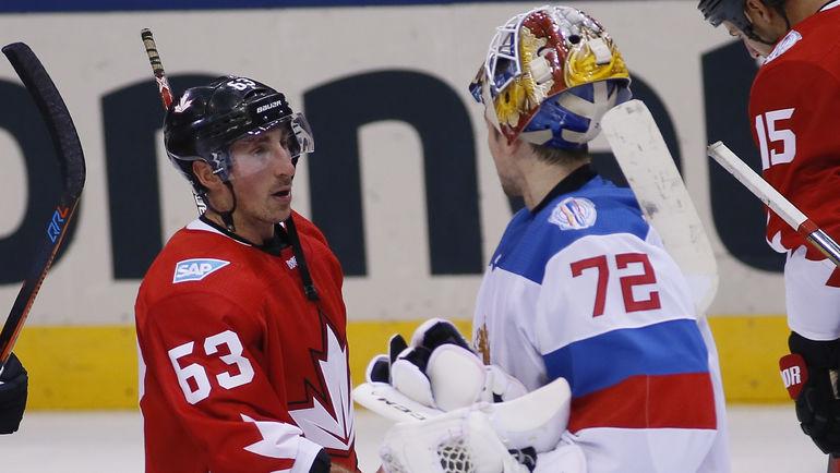 Брэд МАРШАН и Сергей БОБРОВСКИЙ. Фото REUTERS