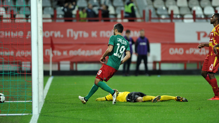 «Локомотив» был на грани
