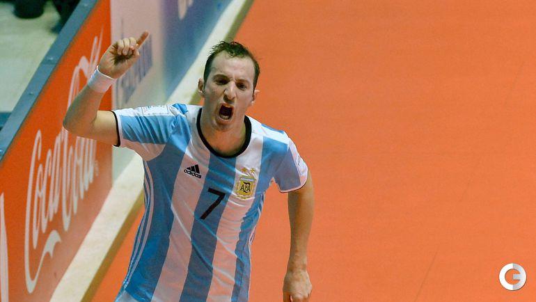 Суббота. Кали. Россия - Аргентина - 4:5. Леонардо КУССОЛИНО. Фото AFP