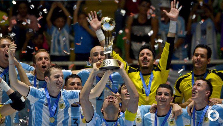 Суббота. Кали. Россия - Аргентина - 4:5. Сборная Аргентины. Фото AFP