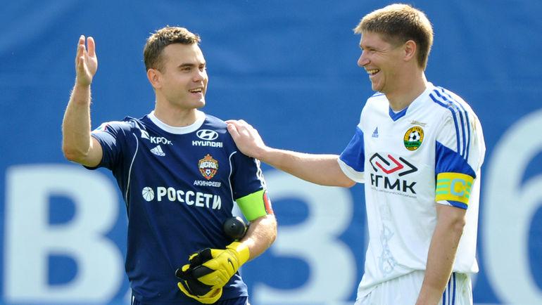 Вместо Акинфеева всборную России вызван вратарь «Анжи»
