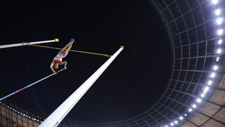 Двукратная олимпийская чемпионка Елена ИСИНБАЕВА установила за свою карьеру 28 мировых рекордов. Фото AFP