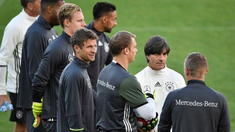 Игроки сборной Германии. Фото AFP