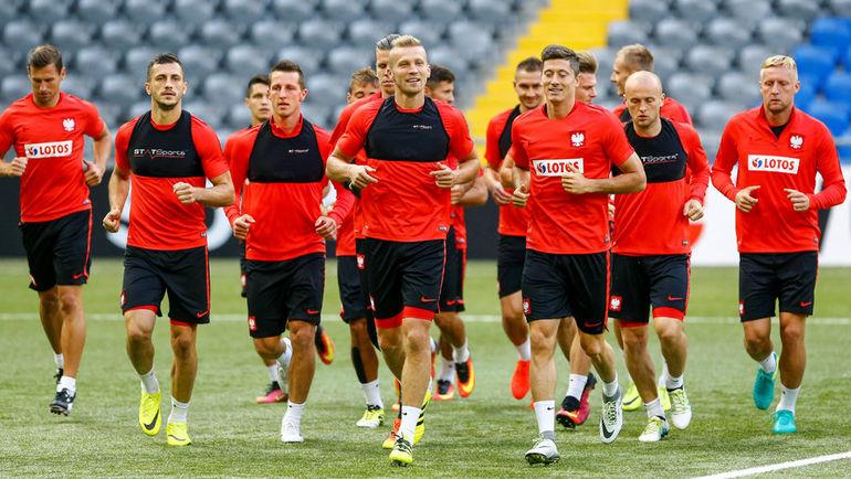 Игроки сборной Польши. Фото REUTERS
