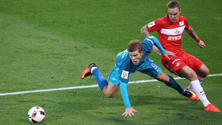 Андрей Ещенко: «Спартаку» приходится обыгрывать не только 11 соперников