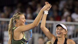 Мария Шарапова вернулась на теннисный корт