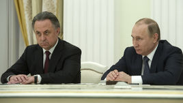 Владимир ПУТИН и Виталий МУТКО (слева).
