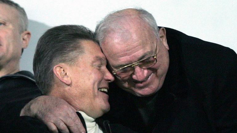 """Олег БЛОХИН и Никита СИМОНЯН. Фото Александр ФЕДОРОВ, """"СЭ"""""""