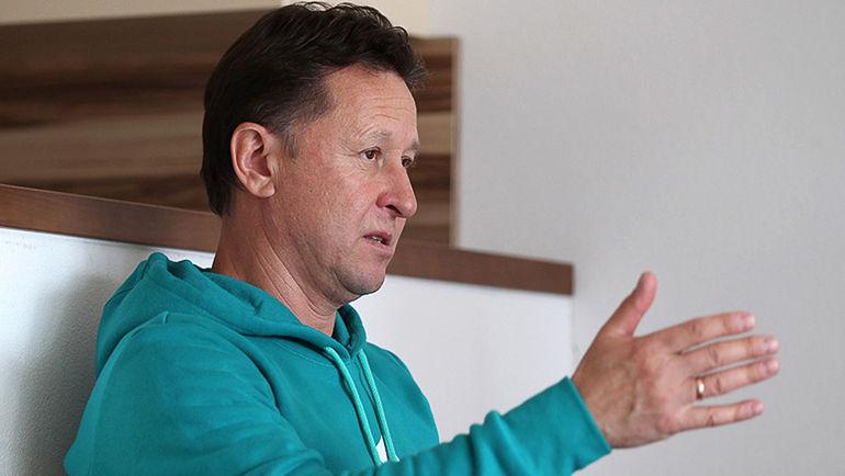 Тренер женской сборной России Валерий МЕДВЕДЦЕВ. Фото СБР