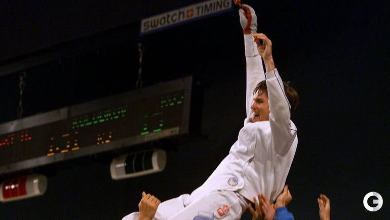 Павел КОЛОБКОВ - олимпийский чемпион-2000. Фото REUTERS