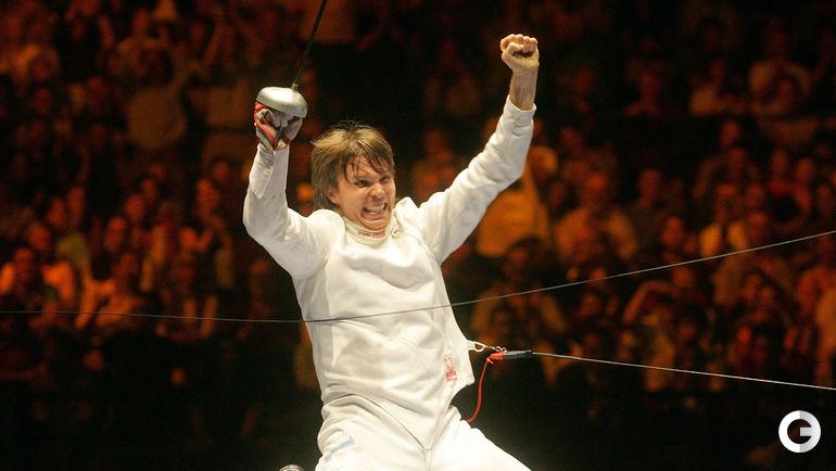 Павел КОЛОБКОВ - лучший на ЧМ-2005. Фото REUTERS