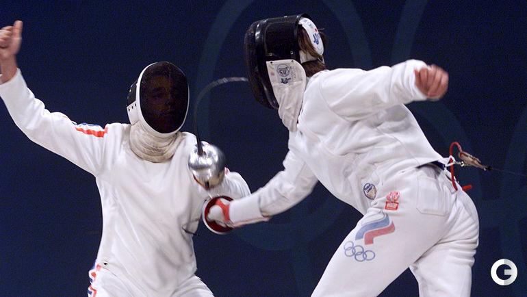 Павел КОЛОБКОВ (справа) - олимпийский чемпион-2000. Фото REUTERS