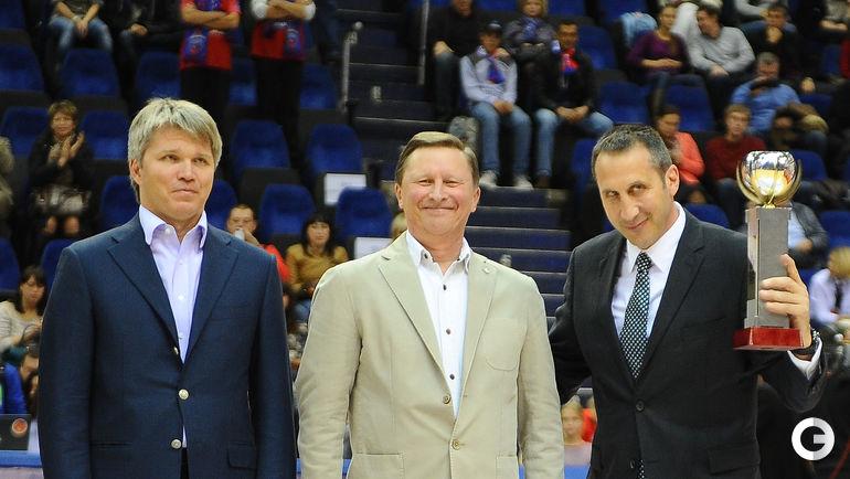 Павел КОЛОБКОВ, Сергей ИВАНОВ и Дэвид БЛАТТ. Фото Антон СЕРГИЕНКО