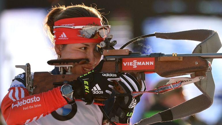 Дарья ВИРОЛАЙНЕН стрелять любит больше, чем бегать. Фото AFP