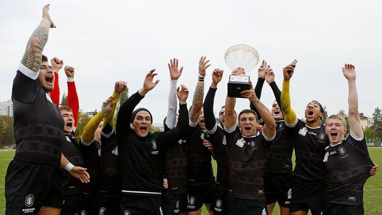 22-23 октября в Краснодаре состоялся Кубок России по регби-7.