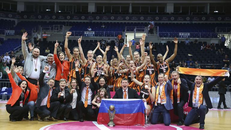 Действующий чемпион Евролиги УГМК стал обладателем Суперкубка Европы. Фото БК УГМК