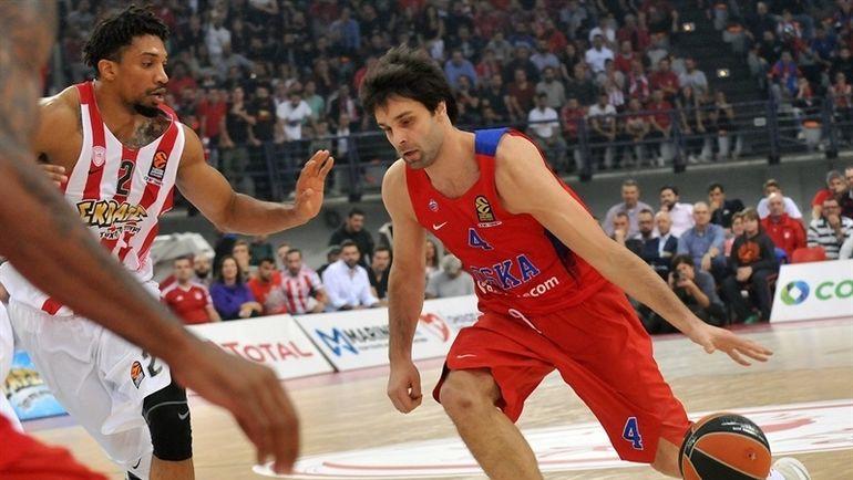 Баскетболисты ЦСКА одержали пятую победу подряд вЕвролиге