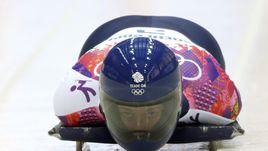 Элизабет ЯРНОЛЬД на олимпийской трассе Сочи.