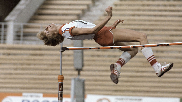 Тамара БЫКОВА на Спартакиаде в 1983 году. Фото Дмитрий ДОСКОЙ/РИА Новости