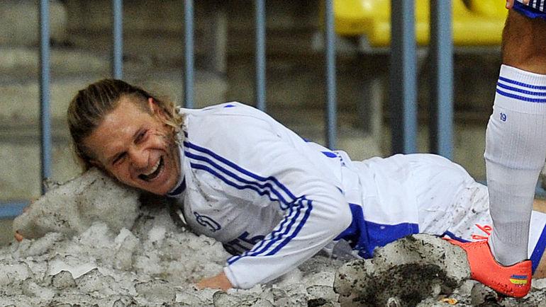 """Для многих иностранцев играть в снежную погоду в диковинку. Фото Федор УСПЕНСКИЙ, """"СЭ"""""""