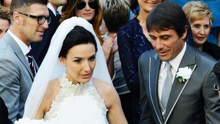 2013 год. Массимо КАРРЕРА (слева) на свадьбе своего лучшего друга Антонио КОНТЕ
