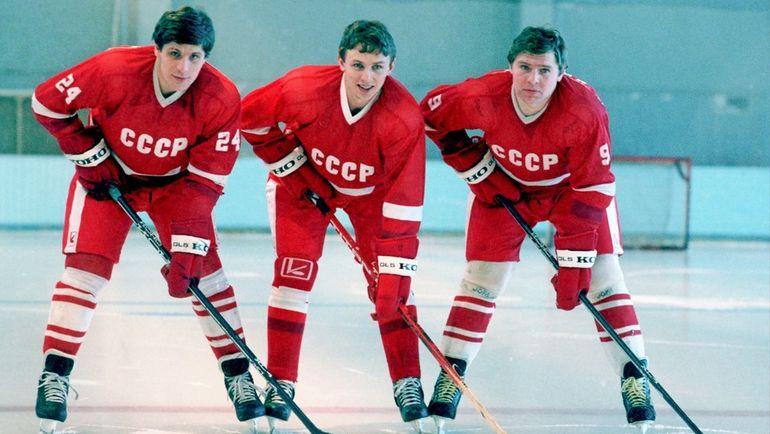 Сергей МАКАРОВ, Игорь ЛАРИОНОВ и Владимир КРУТОВ. Фото Федор АЛЕКСЕЕВ