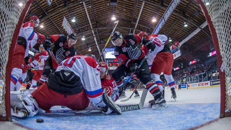 Молодежная сборная России похоккею проиграла команде лиги Онтарио