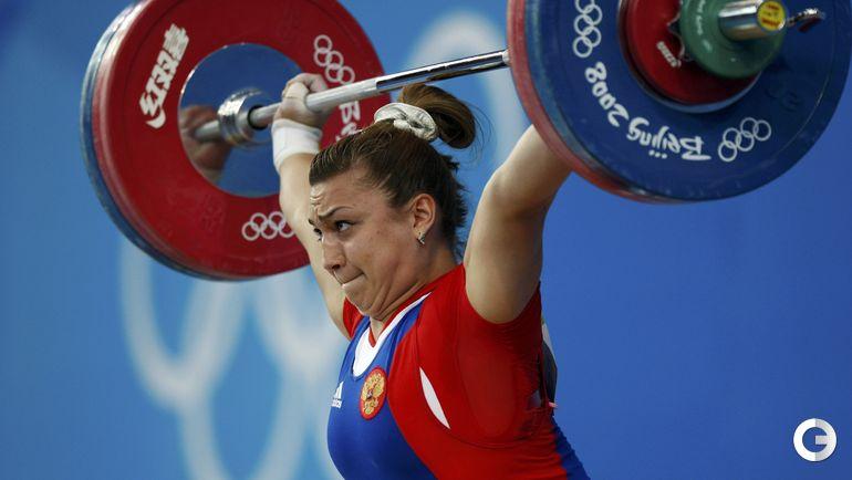 Надежда ЕВСТЮХИНА, тяжелая атлетика. Место - 3-е (Пекин-2008). Препарат - туринабол. Фото REUTERS