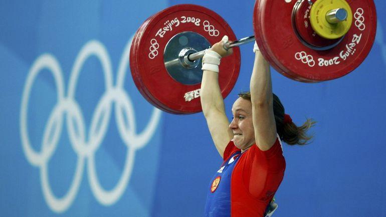 Марина ШАИНОВА, тяжелая атлетика. Место - 2-е (Пекин-2008). Препарат - туринабол, станозолол. Фото REUTERS