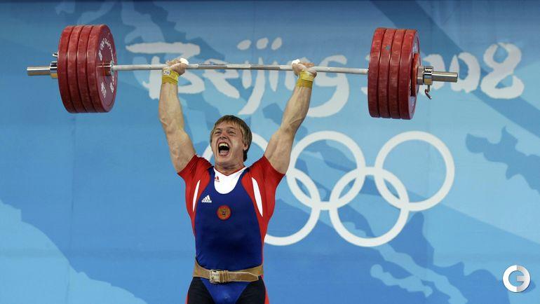 Дмитрий ЛАПИКОВ, тяжелая атлетика. Место - 3-е (Пекин-2008). Препарат - туринабол. Фото AFP