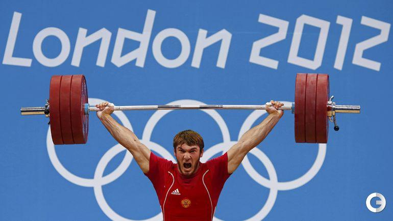 Апти АУХАДОВ, тяжелая атлетика. Место - 2-е (Лондон-2012). Препарат - туринабол, дростанолон. Фото REUTERS