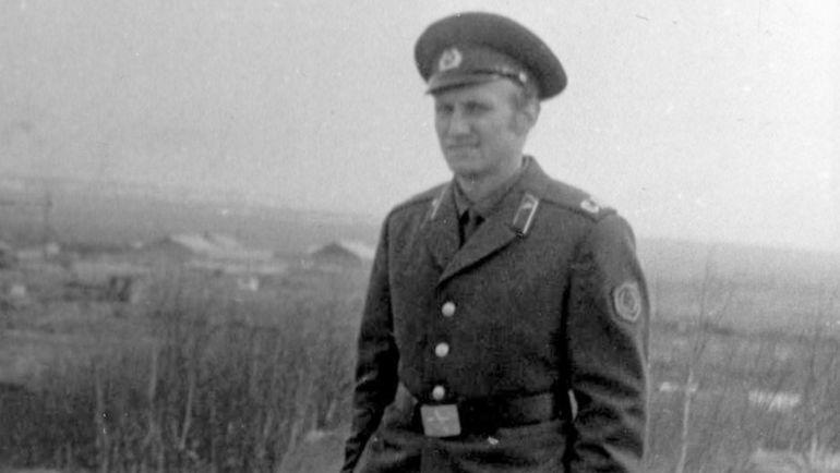 Сергей ОЛЬШАНСКИЙ во время службы на Камчатке.