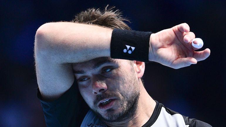 Стэн ВАВРИНКА не смог выйти в полуфинал итогового турнира года. Фото AFP