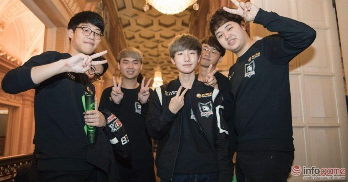 ROX Tigers победила на 2016 LoL KeSPA Cup. Фото infogame.vn