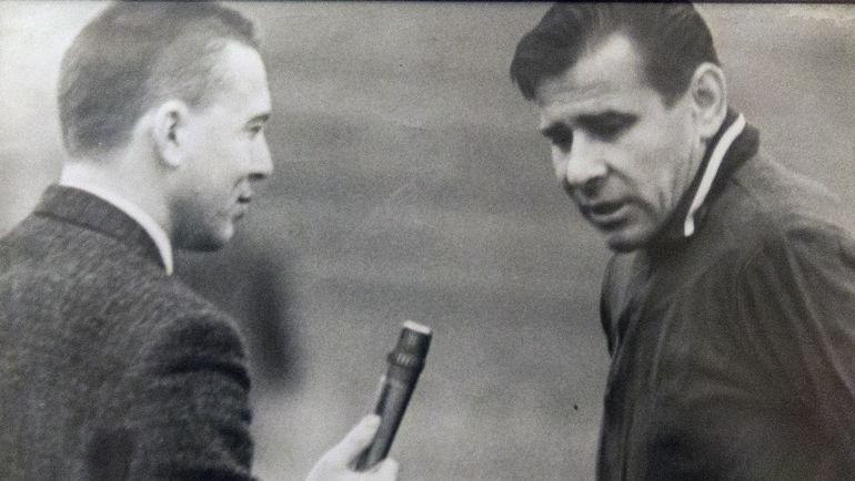 Владимир ПЕРЕТУРИН и Лев ЯШИН. Фото из архива Владимира Перетурина