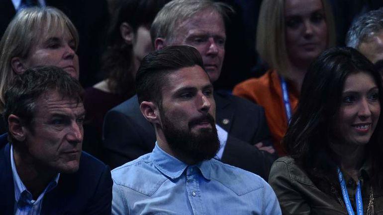 "Нападающий ""Арсенала"" Оливье ЖИРУ. Фото AFP"