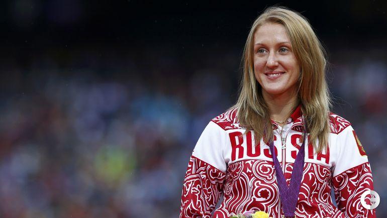 Юлия ЗАРИПОВА, легкая атлетика (бег на 3000 м/п). Место - 1-е (Лондон-2012). Препарат - туринабол. Фото REUTERS