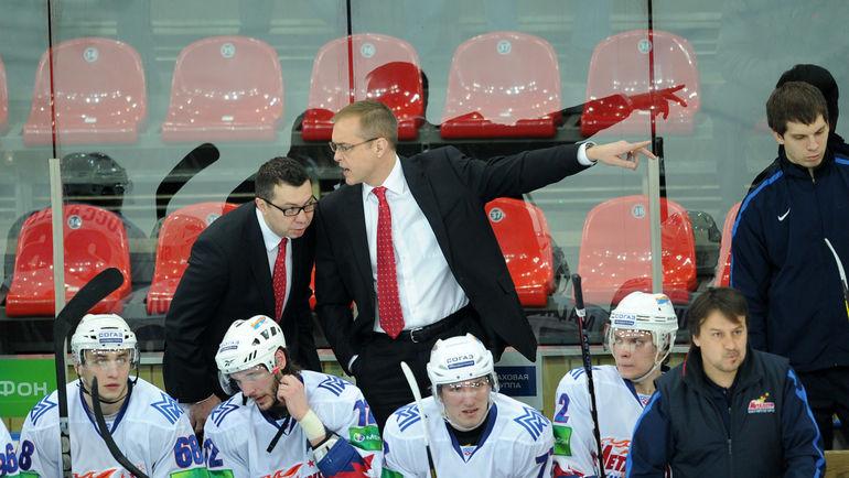 """Пол МОРИС (по центру) и Илья ВОРОБЬЕВ (слева). Фото Алексей ИВАНОВ, """"СЭ"""""""