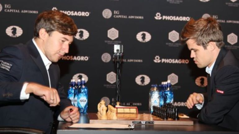 Житель россии Сергей Карякин вышел вперед впоединке замировую шахматную корону