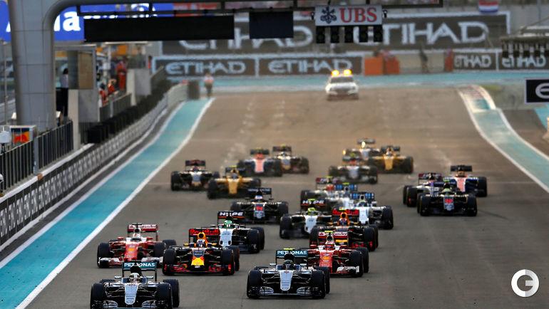Сегодня. Абу-Даби. Старт гонки. Фото REUTERS