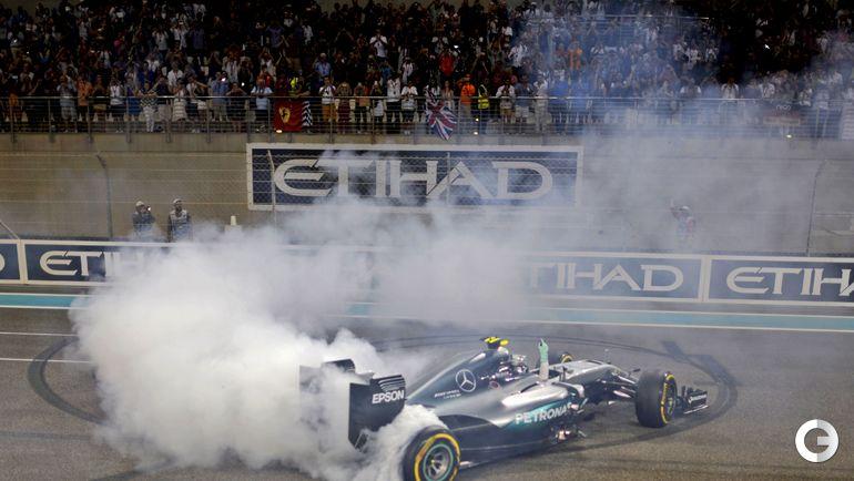 Сегодня. Абу-Даби. Нико РОСБЕРГ. Фото AFP