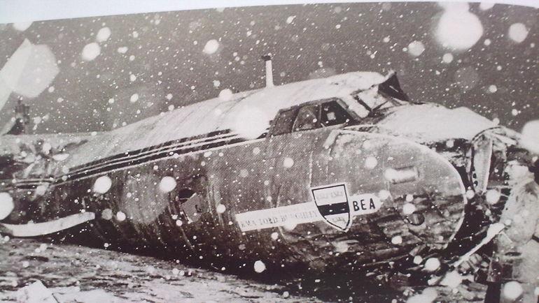 Разбившийся под Мюнхеном самолет
