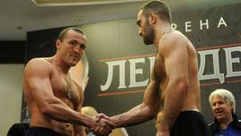 Денис ЛЕБЕДЕВ (слева) и Мурат ГАССИЕВ.