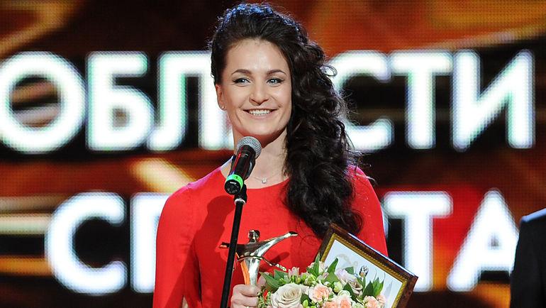 Омская гимнастка Бирюкова показала точеную фигуру набалу олимпийцев в столицеРФ