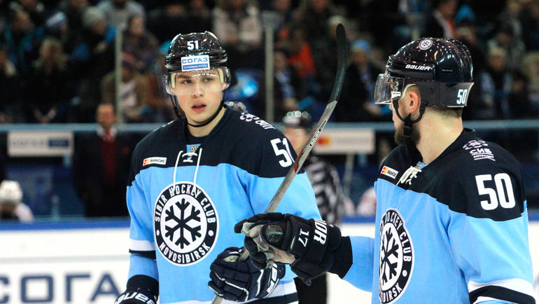 """Вчера. Новосибирск. """"Сибирь"""" - """"Авангард"""" - 1:3. Новосибирская команда потерпела поражение на своем льду. Фото ХК """"Сибирь"""""""