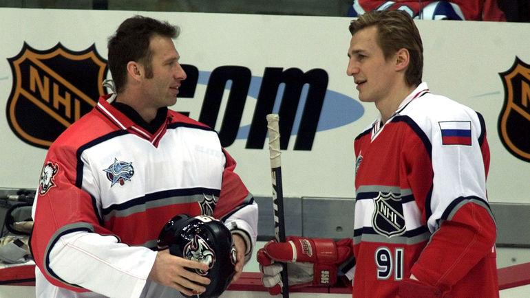 Доминик ГАШЕК и Сергей ФЕДОРОВ. Фото REUTERS